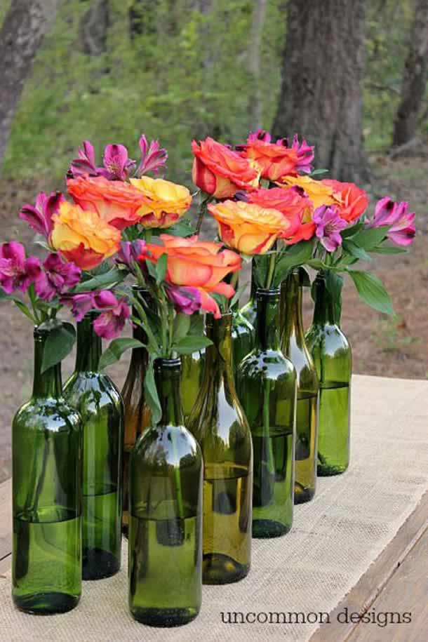 centro-de-mesa-para-casamento-garrafas