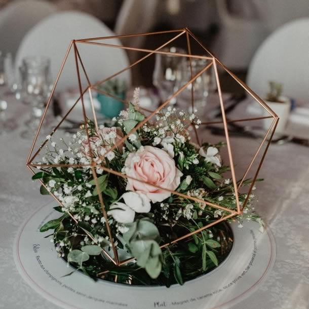 centro-de-mesa-para-casamento-geometrico