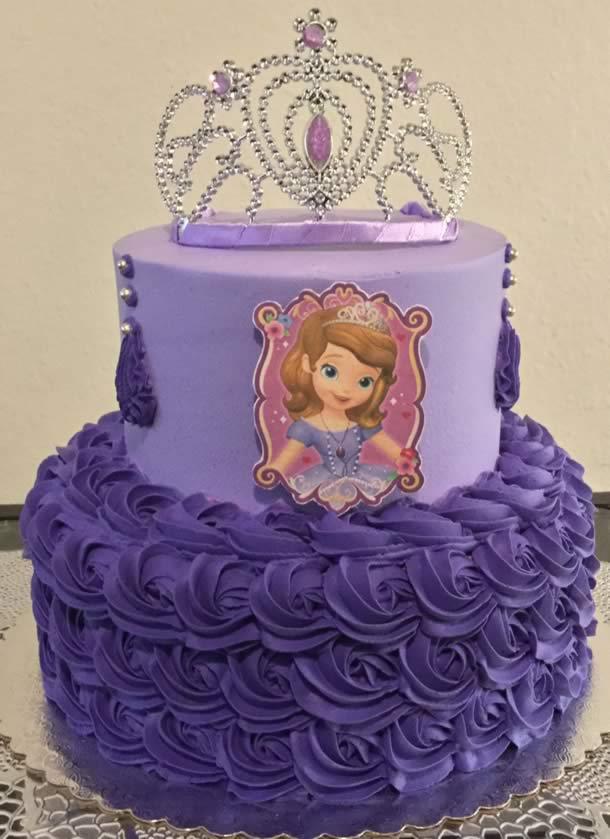 bolo-da-princesa-sofia-bicos-roxos