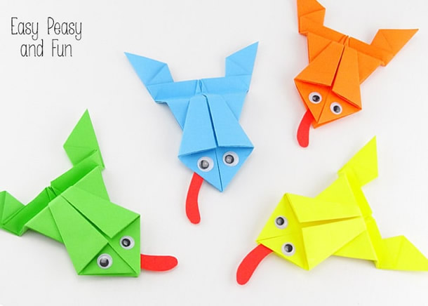 animais-de-papel-sapo-origami