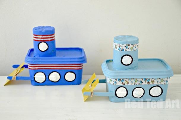artesanato-com-potes-de-margarina-brinquedos
