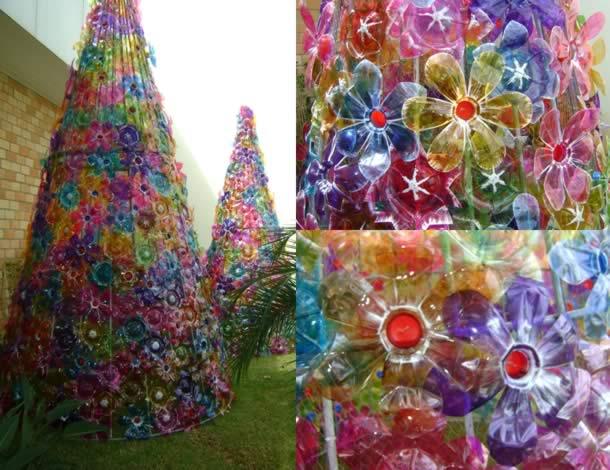 arvore-de-garrafa-pet-flores