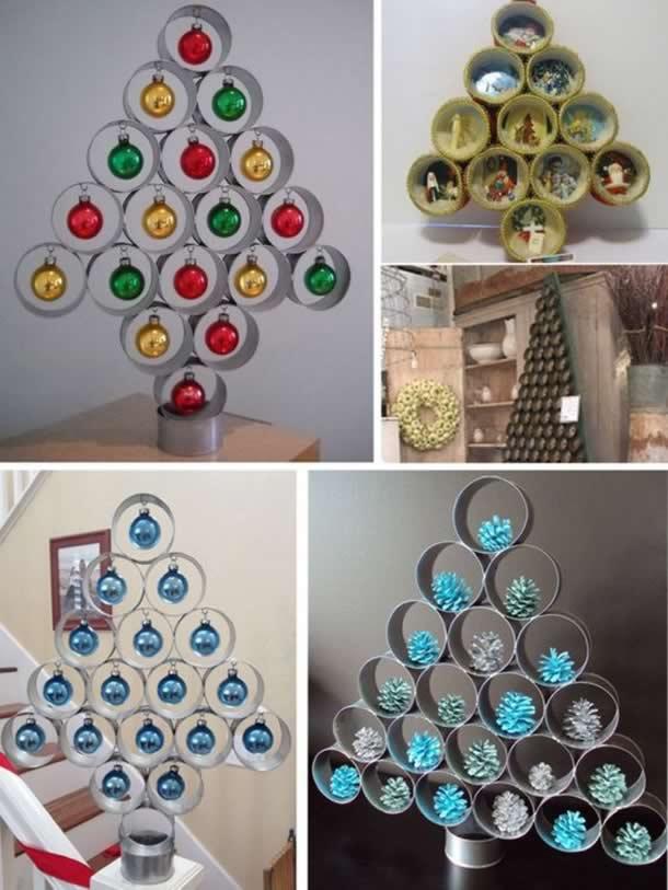 decoracao-de-natal-simples-arvore-rolos-papel
