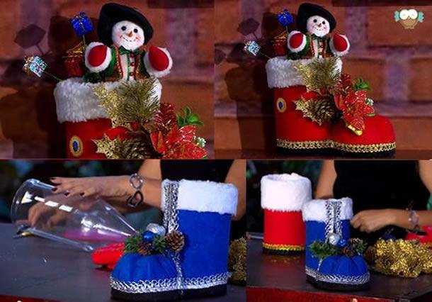 decoracao-de-natal-simples-bota-garrafa-pet