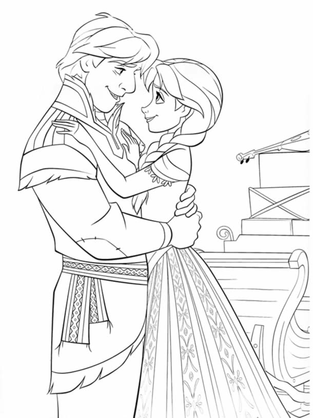 desenhos-para-colorir-frozen-casal