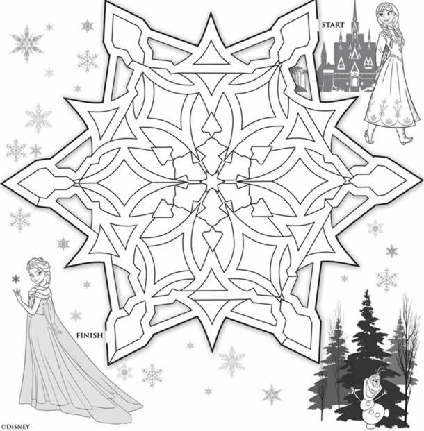 desenhos-para-colorir-frozen-floco-neve