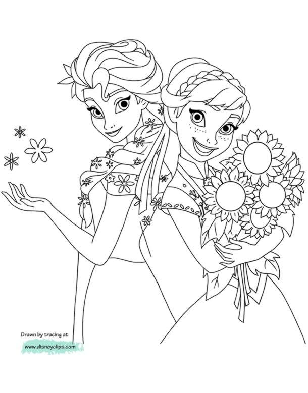 desenhos-para-colorir-frozen-girassol