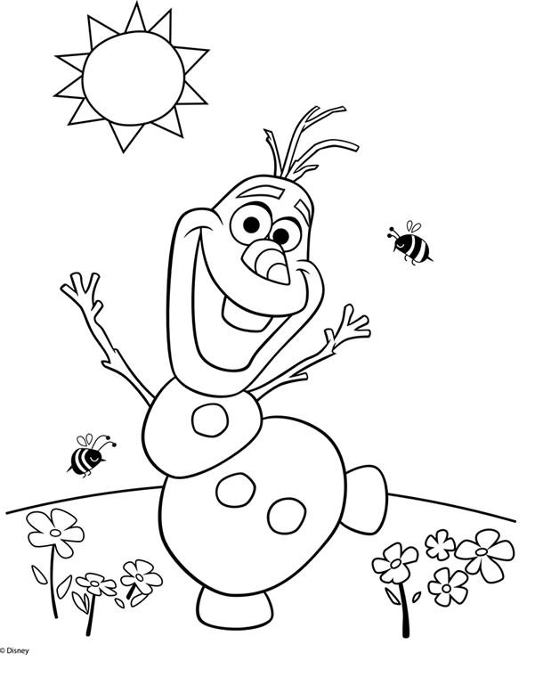 desenhos-para-colorir-frozen-olaf