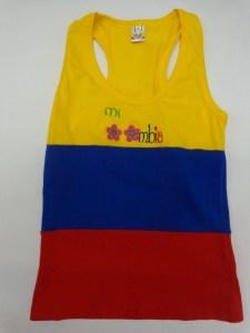 BLUSA BANDERA COLOMBIA $ 20000