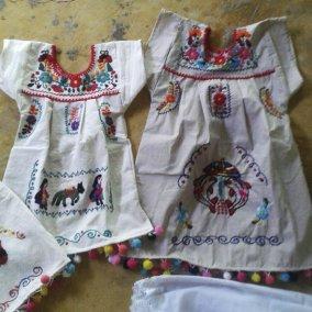 blusas Tehuacán blancas