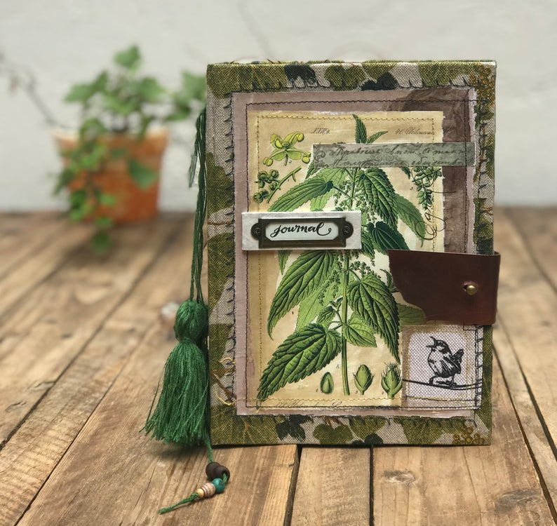 cuaderno artesanal por silvia borghi