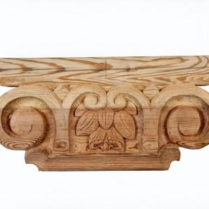 zapata de madera