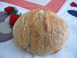 Pão Rústico – sem sovar
