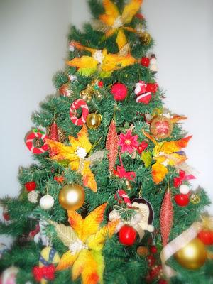 Detalhes da decoração de Natal!