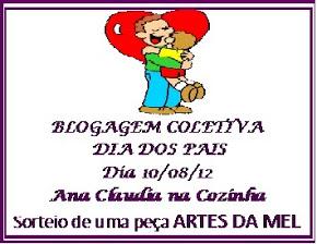 Blogagem Coletiva do DIA DOS PAIS – Ana Cláudia na Cozinha!!!