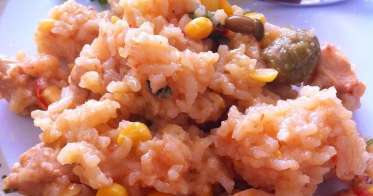 Cozinha Simples – Arroz com Frango!!!