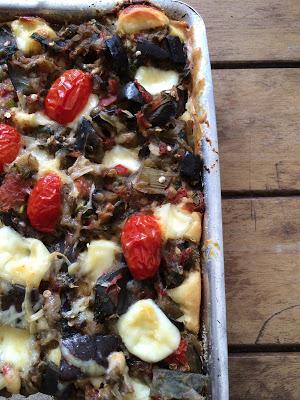 Torta de Berinjela com Queijo Meia-Cura – Chá da Primavera – Coletivo Gastronômico!!!