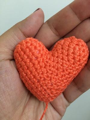 Receita de Coração de Crochê!!!