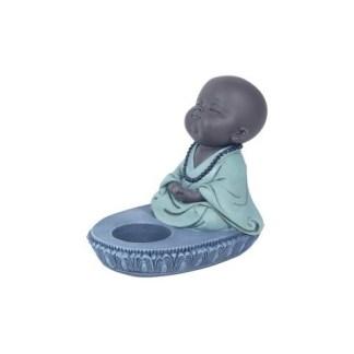 Portavela Monje Meditando