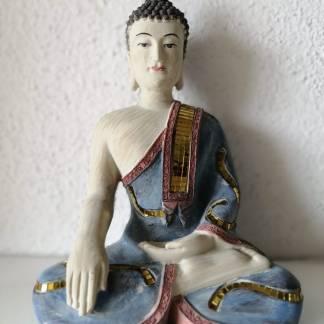 Buda Enfeite Bhumisparsha Mudra decoración
