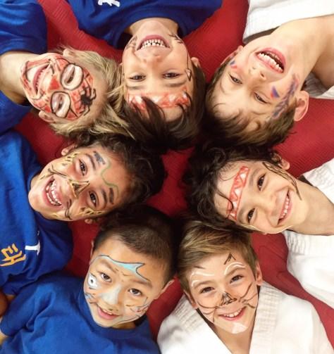 clase infantil artes marciales