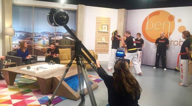 Centros Do Yang Sal en el programa televisivo «Ben Trobats»
