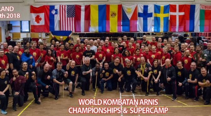 Celebrado en Finlandia el Mundial de Arnis Kombatan