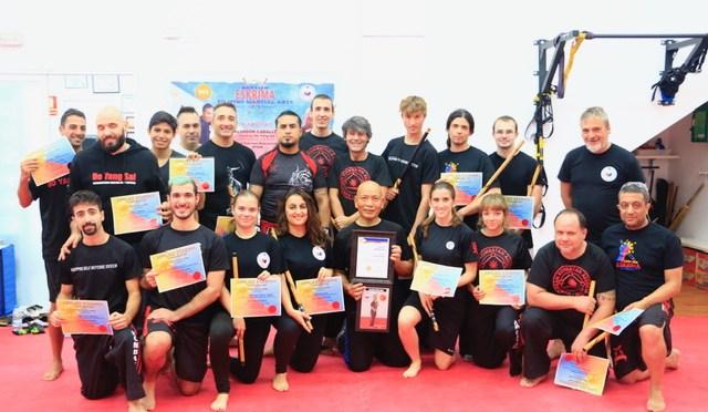 ¡Curso de Artes Marciales Filipinas con Master Cavada!