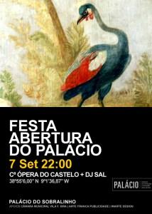 Festa Abertura Palácio