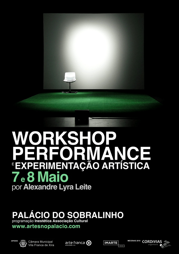 Workshop Performance e Experimentação Artística