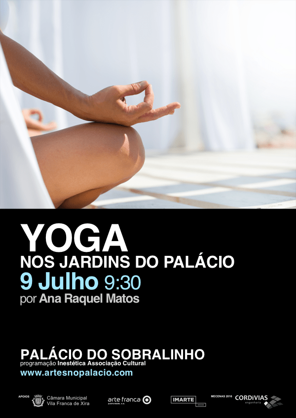 Yoga nos Jardins do Palácio