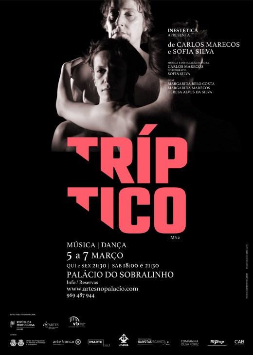 TRÍPTICO de Carlos Marecos e Sofia Silva