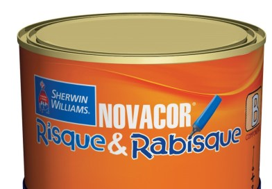 Novacor Risque & Rabisque da Sherwin-Williams volta ao mercado na medida certa
