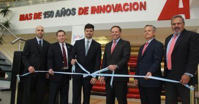 Axalta celebra o investimento da primeira fábrica na Argentina