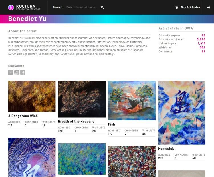Kultura page profile