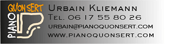 PIANO QU'ON SERT  Urbain Kliemann