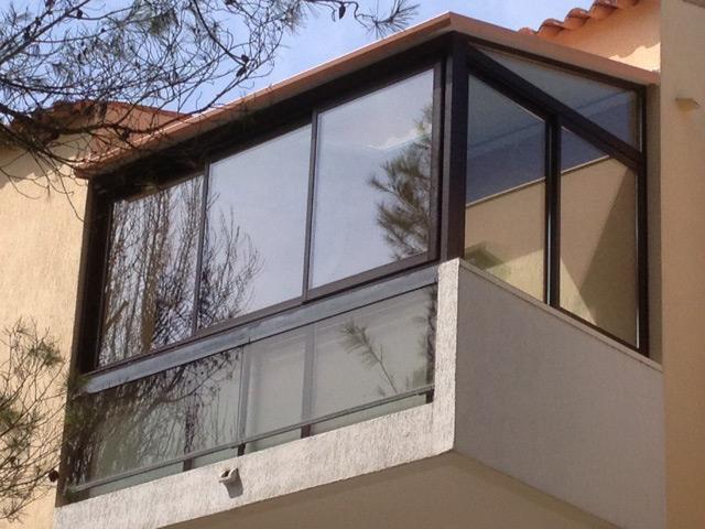 Fenêtre en aluminium.