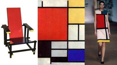 La Sedia Rossa e Blu di Thomas Gerrit Rietveld.