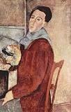 Autoritratto Amedeo Modigliani 1919