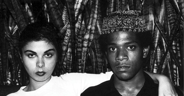 Susanne Mallouk e Basquiat