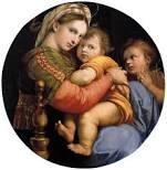 Madonna della seggiola Raffaello Sanzio 1513-1514