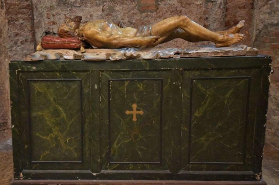 Particolare Cripta San Sepolcro Milano