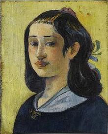 La madre dell'artista Paul Gauguin 1890-93
