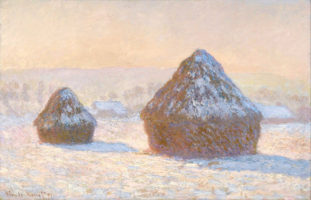 Covoni di grano Claude Monet 1891