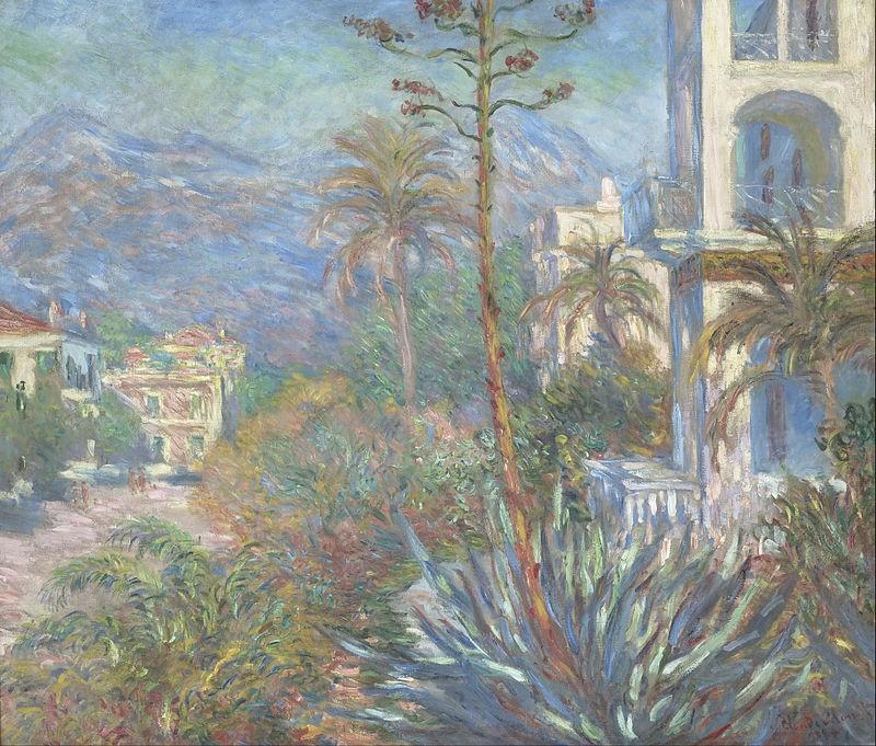 Ville di Bordighera Claude Monet 1884