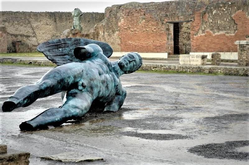 Igor Mitoraj a Pompei Photo ANSA