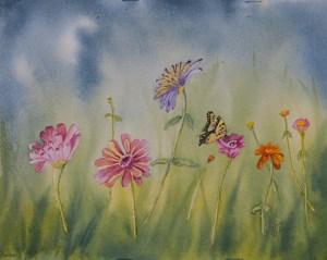Watercolor 8 x 10 $150