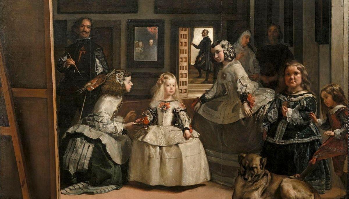 Las Meninas de Velázquez, la obra maestra de Velazquez.
