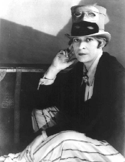 Retrato de Janet Flanner, 1925. arteyalgomas