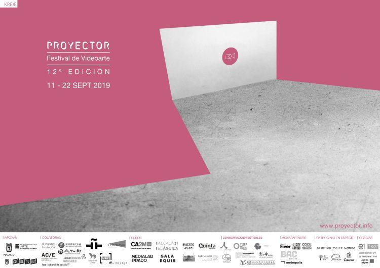 Proyector. Festival de videoarte. arteyalgomas